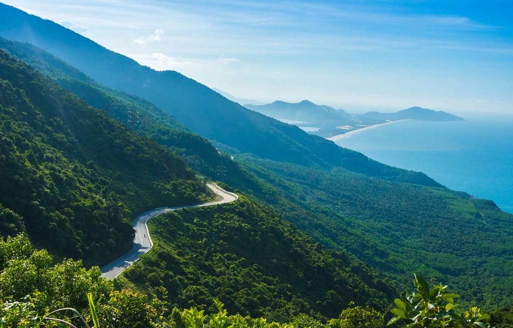 Hai Van is always one of the scariest passes to conquer in Vietnam
