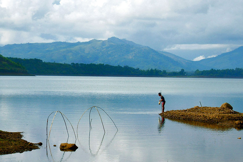T'Nung Lake - the ideal place for nature lovers