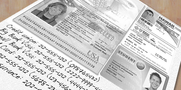 Take a photocopy of your ID with you - Vietnam travel tips