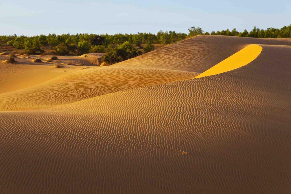 The red sand dunes in Mui Ne