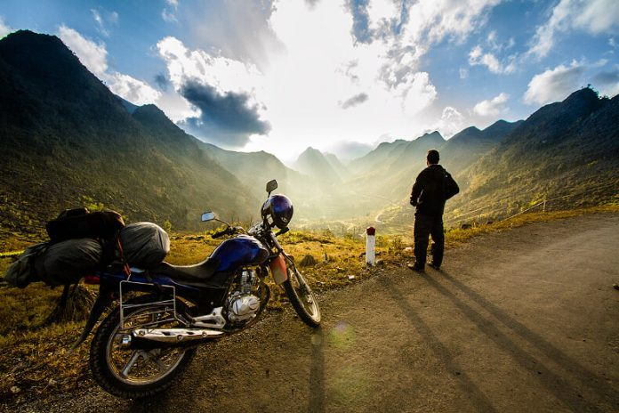Travel with motorbike in Vietnam is not easy